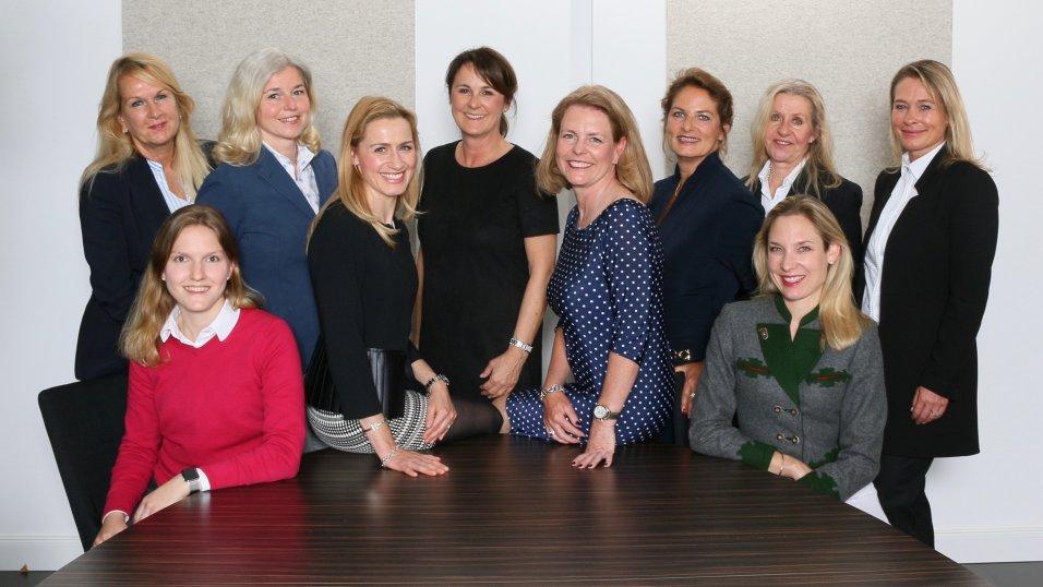 Vorstand der Frauen Union Grünwald