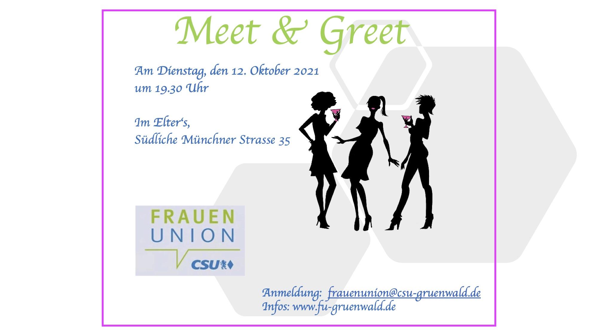 Meet & Greet Einladung 2